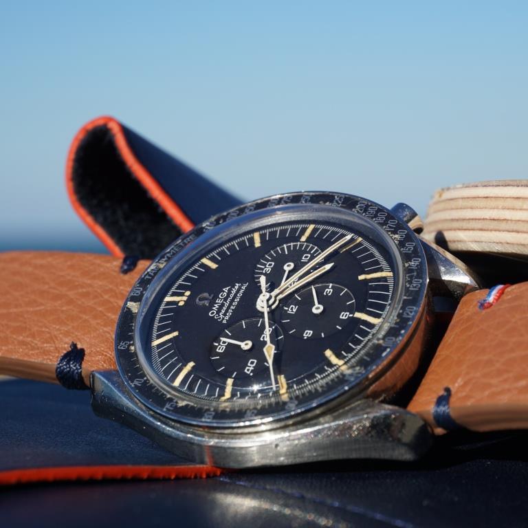 bracelet cognac speedmaster