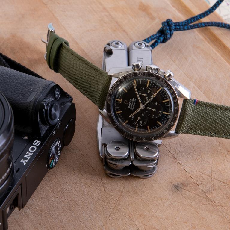 bracelet kaki speedmaster