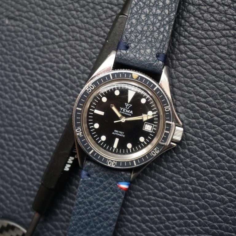 yema 530016 et bracelet cuir 19mm