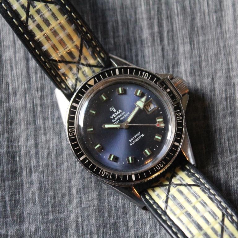 bracelet toile voile la rochele avec superman vintage